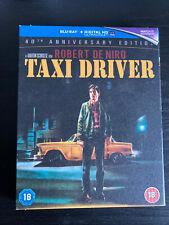 Taxi Driver 40th Anniversary Edition Blu Ray w/ Slipcover