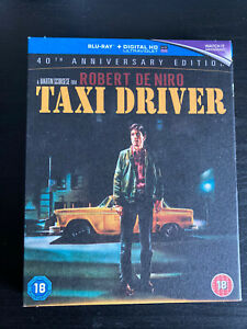 Taxi Driver 40th Anniversary Edition Blu Ray w/ Slipcover