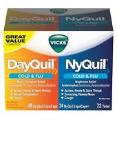 VICKS DAYQUIL NYQUIL COMBO PACK - 72 ct. Cold Medicine