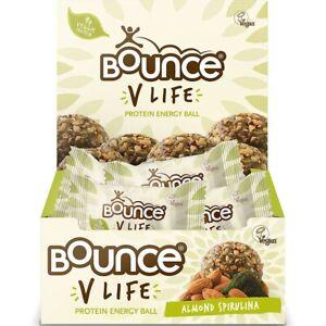 Bounce V - Life Almond Spirulina 12 x 40g