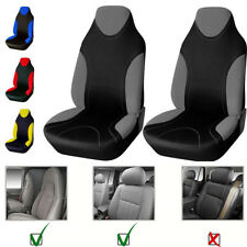 Universal Front 2 Seat Car Seat Cover Protector Durable Polyester Fabric bouncy
