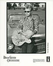 Brian Setzer Orchestra 1995 Original B/W Press Photo Stray Cats