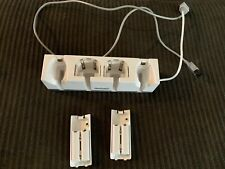 Dreamgear Wii Double Dock Charging Station Wiimote Controller Nunchuk Holder