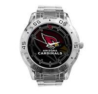 Arizona Cardinals NFL Stainless Steel Analogue Men's Watch Gift