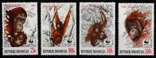 Indonesië postfris 1989 MNH 1366-1369 - Apen / Apes