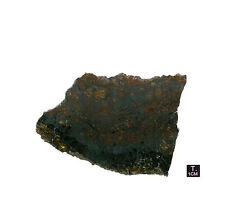 "Pallasite ""JEPARA"" - Slice oxidized crust - 76,16 g - 85 x 106 mm"
