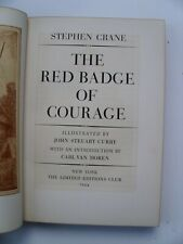Stephen Crane~THE RED BADGE OF COURAGE~LIMITED EDITIONS CLUB~1944~#987 OF 1000