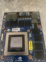 GTX 980M Graphics GPU Video Card 8GB GDDR5 For Dell Alienware HP Clevo MSI