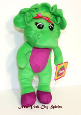 "Barney Baby Bop Plush Singing ""I Love You"" Song 11 Inches"