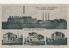 Ak, Löbstädt, Duxer Kohlenverein Dora und Helene, Großzössen 1920 (G)19434