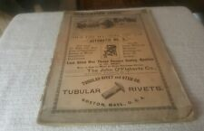 1901 NATIONAL HARNESS REVIEW - CONVENTION ISSUE Sept. 1901 Chicago, U.S.A. HORSE