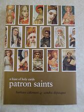 Patron Saints : A Feast of Holy Cards by Barbara Calamari and Sandra DiPasqua...