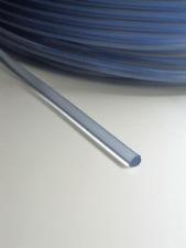 Rest > 2,6 Meter PVC - Rundkeder transparent - flexible Kederschnur 5 mm