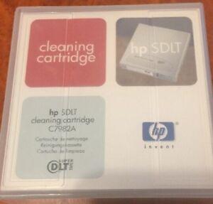 HP SDLT Cleaning Cartridge C7982A For Super DLT Tape 51122 16332