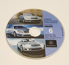 2008 Update Mercedes CD Base Navigation Map #6 KY WV + Partial IN TN MD NY OH PA