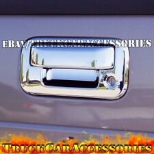 For FORD F250/F350/F450 Super Duty 2008-2015 2016 Tailgate Handle Cover Keyhole
