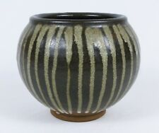 Robert Sperry Brown Drip Glaze Studio Pottery Pot - Northwest