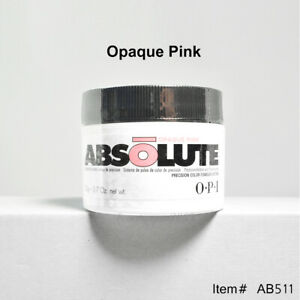 OPI Absolute Acrylic Nail Powder - Opaque Pink 0.7oz