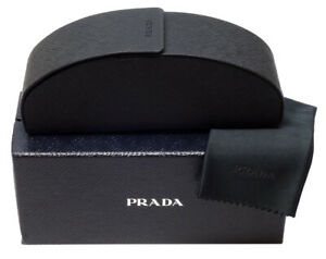 BRAND NEW PRADA EYEGLASSES SUNGLASSES GLASSES OUTER BOX CASE SEALED CLOTH