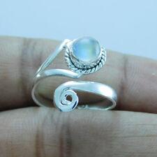 Adjustable Toe Ring tr-297 Rainbow Moonstone 925 Sterling Silver