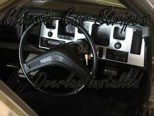 HQ Gts Dash Inlay/Overlay Fishscale with auto console kit