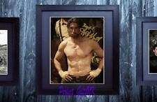 Anson Mount Hell On Wheels SIGNED AUTOGRAPHED FRAMED 10x8 REPRO PHOTO PRINT