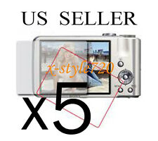 5x Clear LCD Screen Protector Guard Cover Film For Sony CyberShot DSC-H70