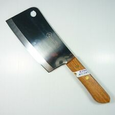 "Cook Knife Chef Knives KIWI Wood Handle Kitchen Sharp Blade 6.5"" Stainless Steel"