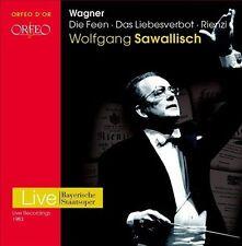 Wagner: Die Feen; Das Liebesverbot; Rienze, New Music