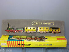 "TRIX ""EXPRESS MODEL No.1530 2-2-2 ""ADLER"" LOCO & 3 COACHES   TRAIN SET  VN  MIB"