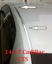 For 2014-2017 CADILLAC CTS CHROME ROOF TOP TRIM MOLDING KIT