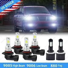 For Nissan Titan 2004 2014 2015 Combo Led Headlights Highlow Fog Lights Bulbs