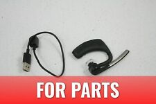 For Parts Plantronics Voyager Bluetooth Single Ear Noise Canceling Headset