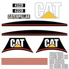 Decal Sticker Set CAT 432D Backhoe Decal Set