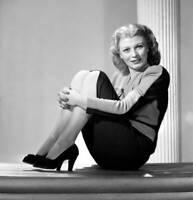 OLD CBS RADIO PHOTO Radio Singer Jeri Sullavan 1940s 3
