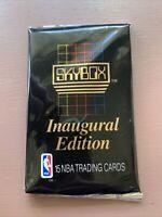 1990/91 Skybox NBA Basketball Series 1 15-Card Inaugural Edition New Sealed Pack