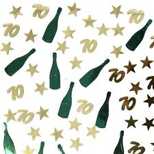 70th Birthday Table Scatter | 70th Party Table Confetti Decor - UK SELLER
