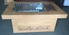 Japanese Hibachi Table or Coffee Table Copper Lined