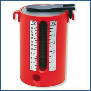 Rothenberger ABS Dual Scale Flow Measure 2 to 22 Litres 1/2 - 5 Gallons Plumbing