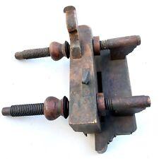 Antique Wood Plough Plow Plane Screw Arm Hall Case & Co Columbus OH c1840-1860