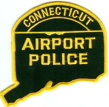 Connecticut Airport Police Patch Connecticut CT NEW !!!