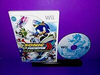 Sonic Riders: Zero Gravity (Nintendo Wii, 2008) No Manual B530