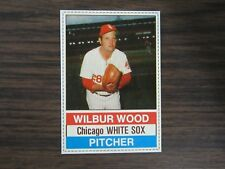 1976 Hostess Cup Cakes #99 Wilbur Wood Card Chicago White Sox (B67)
