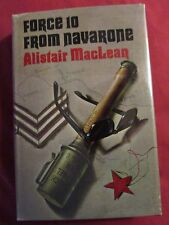 FORCE 10 FROM NAVARONE by ALISTAIR MacLEAN--HC/DJ/1stEdition/SIGNED.