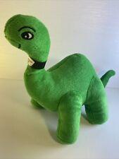 "Sinclair Oil 14"" Plush Green Dinosaur Mascot Dino 2016 Brontosaurus Collectible"