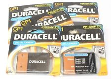 5 Duracell CP1 CP3553 Prismatic Battery for Nikon Coolpix Camera 3700 4200 5200
