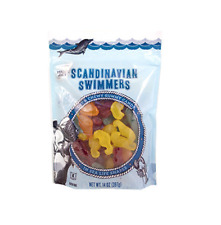 Trader Joe's Scandinavian Swimmers Gummy Candy Fish and Sea Life 14oz.
