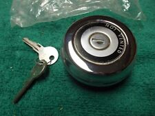66 67 68 69 70 Lincoln Continental Chrome USA Made Vintage Locking Gas fuel Cap