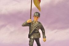 Elastolin Bundeswehr Soldat Deutschland Flagge Fahne / German Soldier with Flag