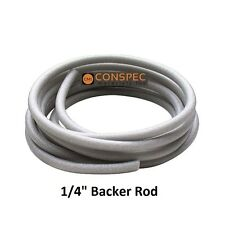 """1/4"""" HBR Closed Cell Backer Rod 20 Ft Free Shipping Nomaco Construction Foam"""